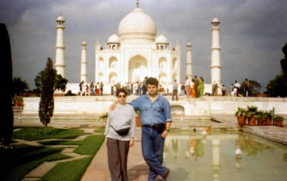 Arome persistente - Taj Mahal, India