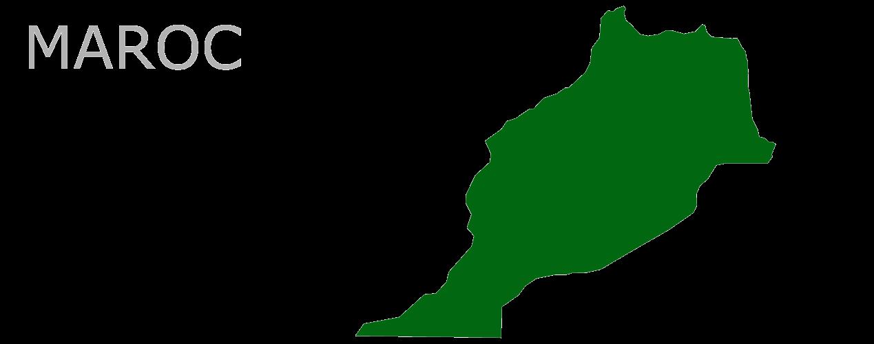 Map Af Maroc