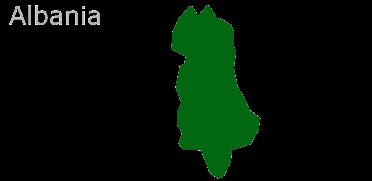 Map Eu Albania