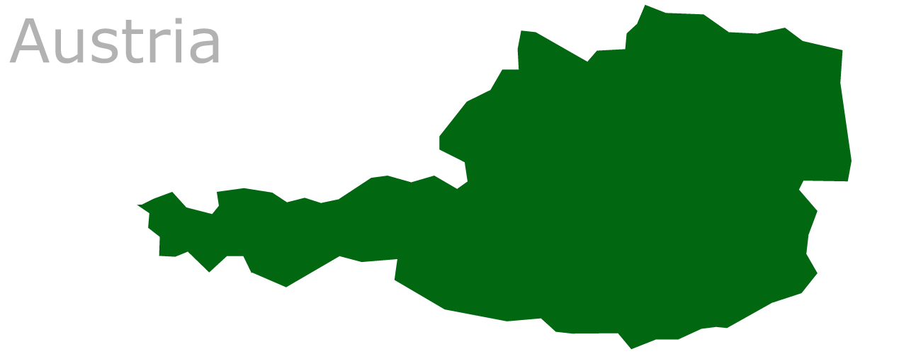 Map Eu Austria