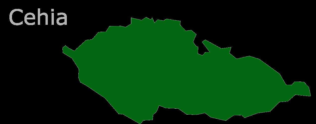 Map Eu Cehia