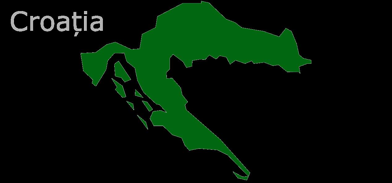Map Eu Croația