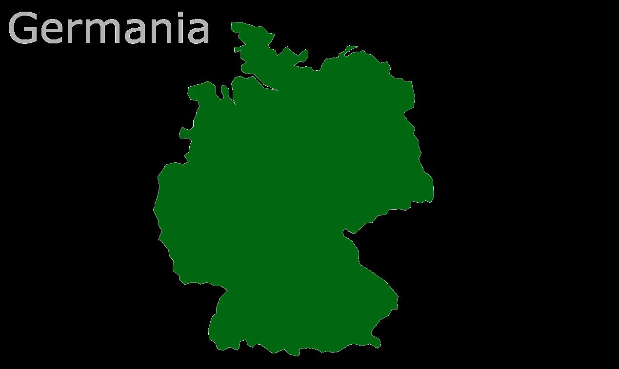 Map Eu Germania