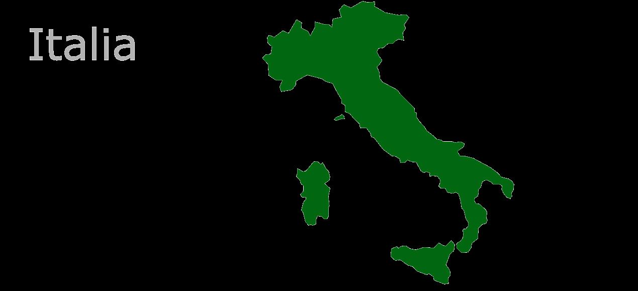 Map Eu Italia