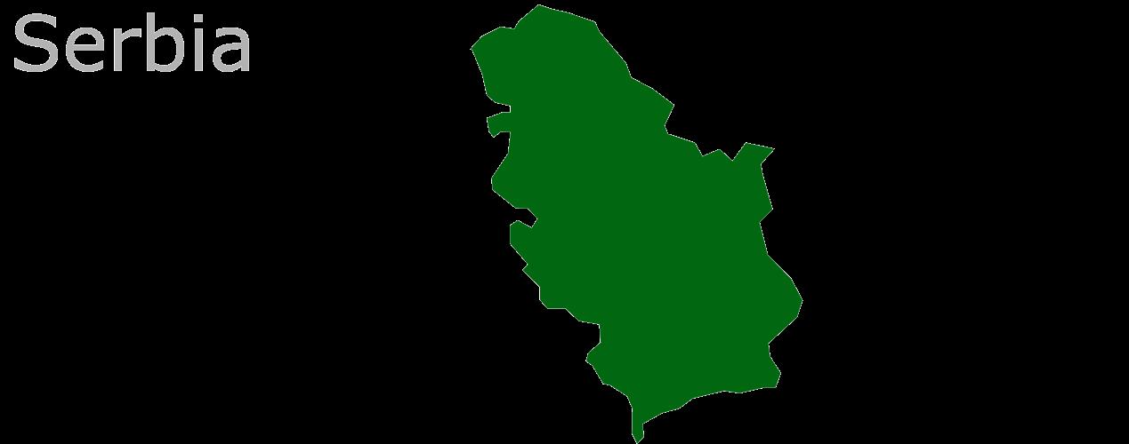 Map Eu Serbia