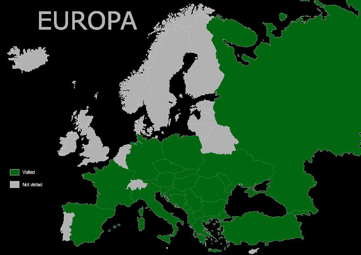 Map Europa