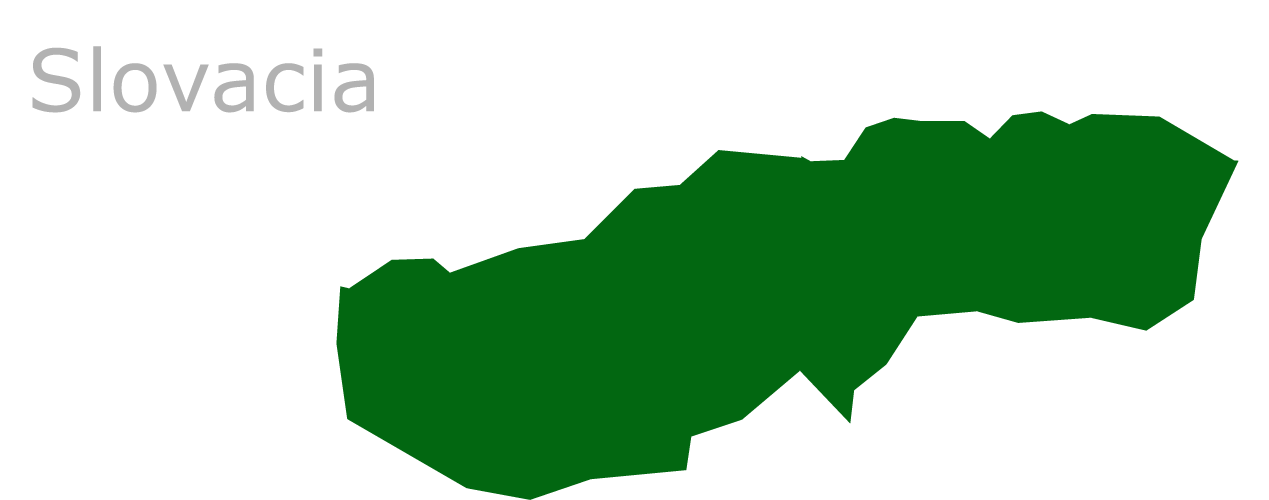 Map Eu Slovacia