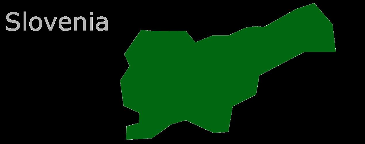 Map Eu Slovenia