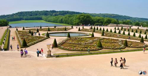 Grădinile și micul Trianon